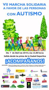 VII Marcha Solidaria Autismo Zamora