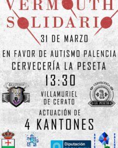 Vermut solidario a favor de Autismo Palencia