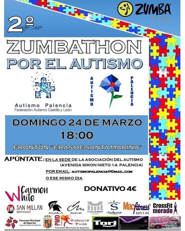 II Zumbathon a favor de Autismo Palencia
