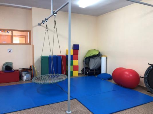Sala de integración sensorial Autismo Valladolid