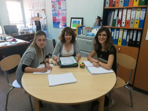 Visita de Federacion a Autismo Valladolid