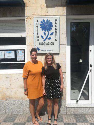 Federación visita a Autismo Palencia