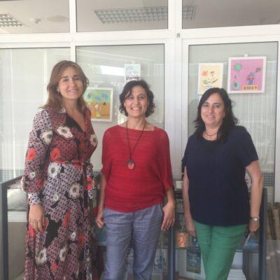 Visita de Federación a Autismo Burgos