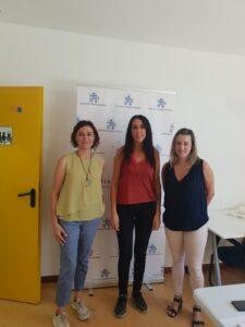 Visita de Fedeación a Autismo Zamora