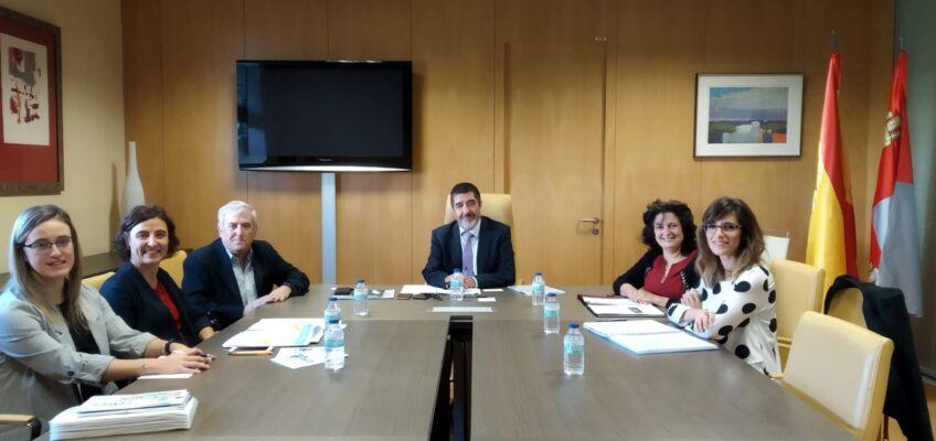 Reunion de Federacion con la Gerencia de Sanidad de Castilla y León