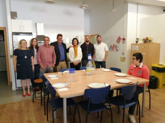 Federación autismo visita a la asociación ARIADNA Salamanca
