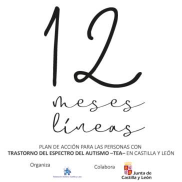 Campaña 12 meses 12 líneas, plan de autismo en Castilla y León