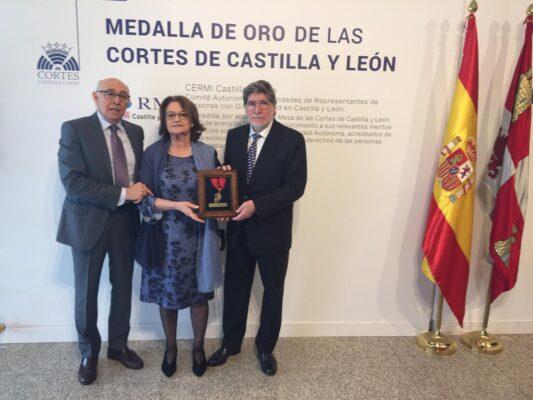 Medalla de oro para el CERMI CyL