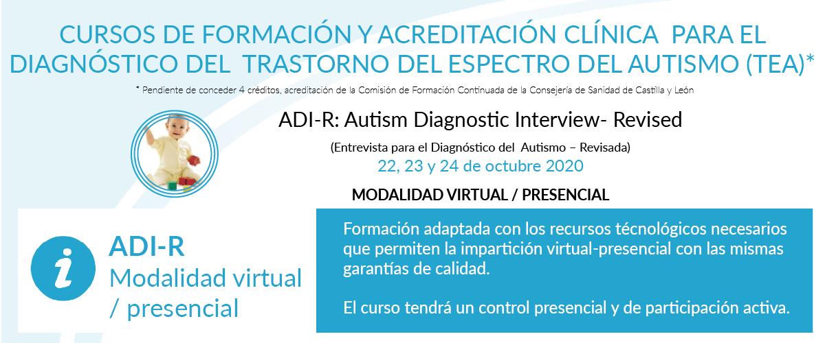 Curso de formación ADI-R Herramienta para el diagnóistico de autismo