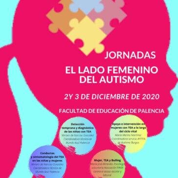 programa el lado femenino del autismo - asociación mundo azul palencia