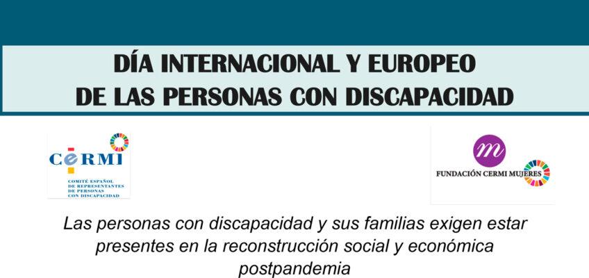 Dia internacional y europeo personas con discapacidad