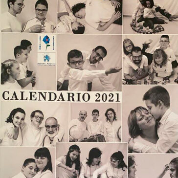 Calendario asociación autismo palencia 2021