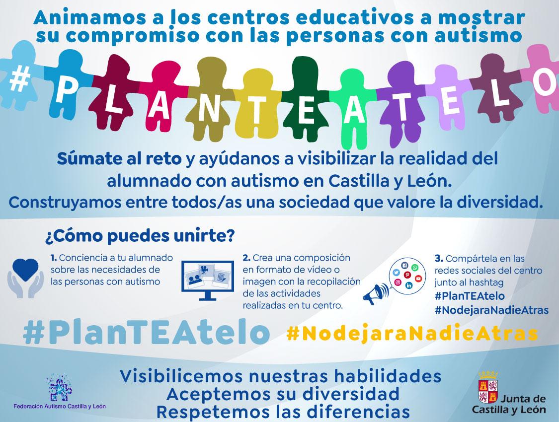 Sensibilización en el entorno educativo para las personas con TEA realizada por Federación Autismo Castilla y León.