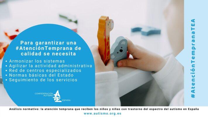 Atención Temprana TEA España 2021